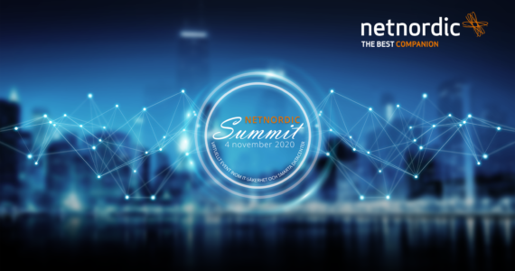 NetNordic Summit 2020 (online) 4 nov